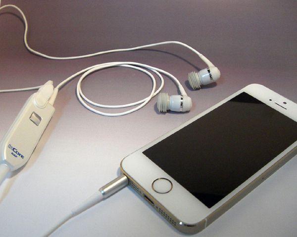 スマートフォン・オーディオ用 インコア